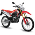 Honda CRF150L Red front