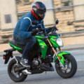 Kawasaki Z125 Pro Green