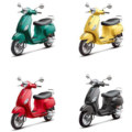 Vespa LX 150 All Colors