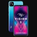 Itel Vision 1 Plus Front and Back