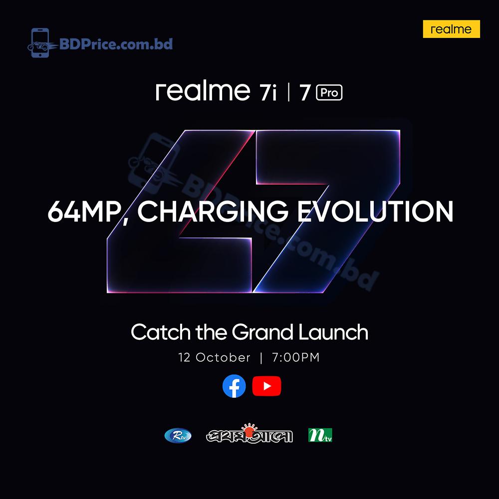 Realme 7 Pro and Realme 7i