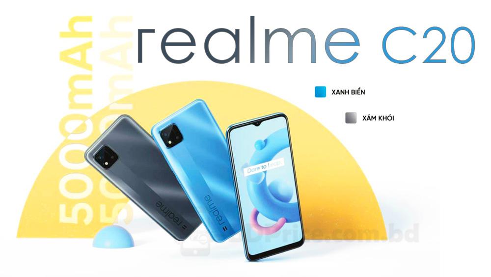 Realme C20 Price in Bangladesh